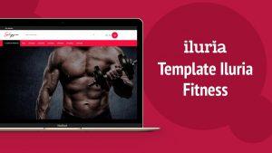 Template Iluria - Moda Fitness